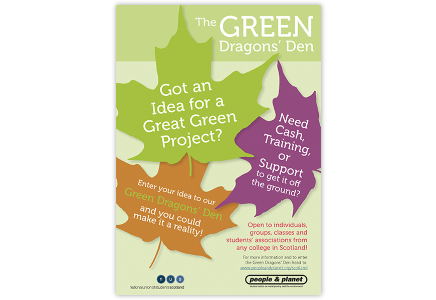 Green Dragon's Den Poster