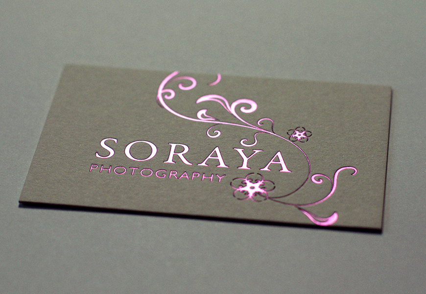 Soraya Business Cards