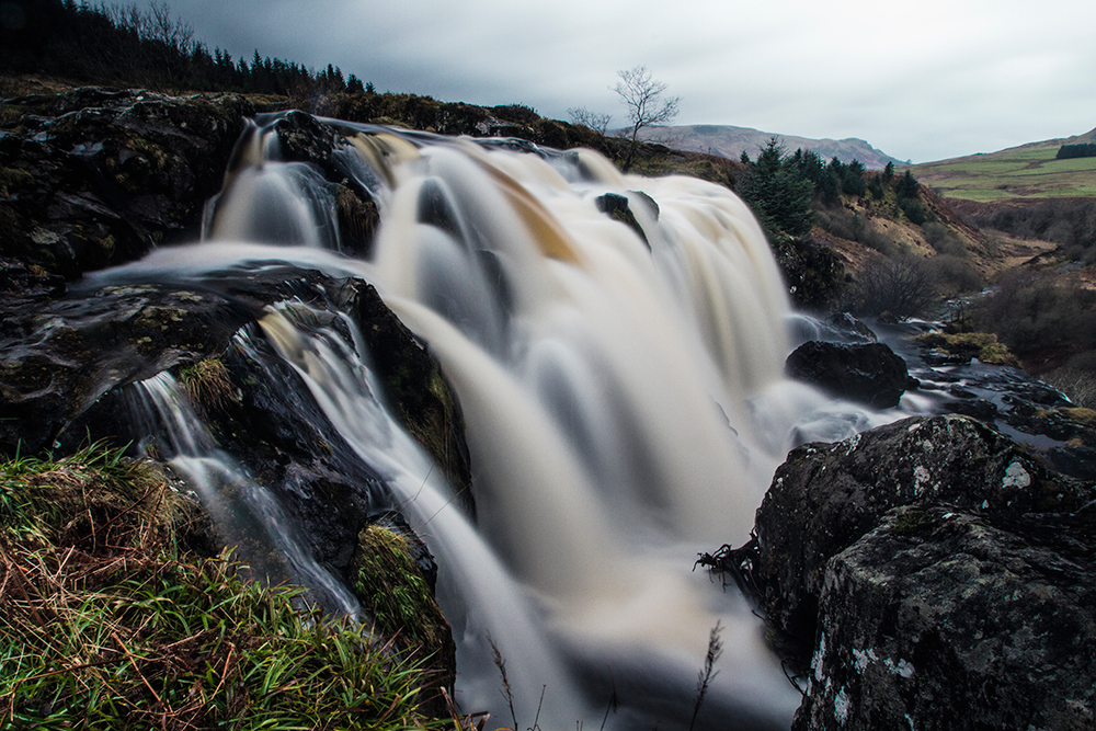 TinyBig Design Landscape Photography Loop of Fintry